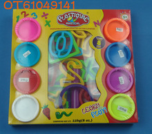 Kids intelligent play dough with number moulds toy for sale OT61049141