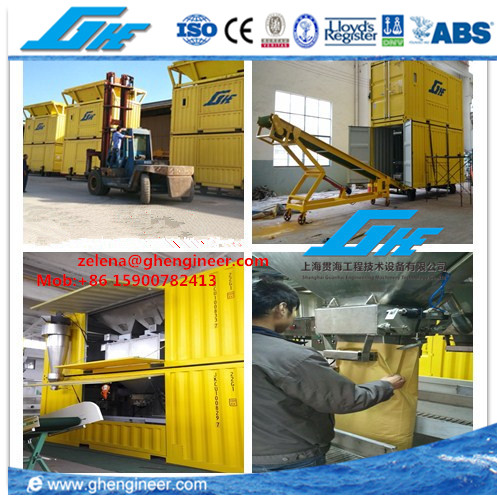 GHE Bulk Filling and Bagging Machine