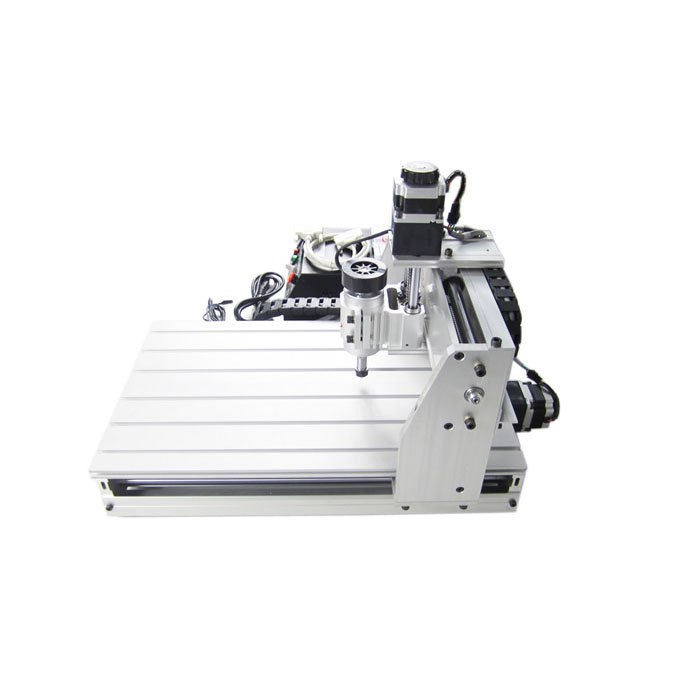 CNC Router 3040Z-DQ 3 axis, ball screw, mini cnc milling machine for wood