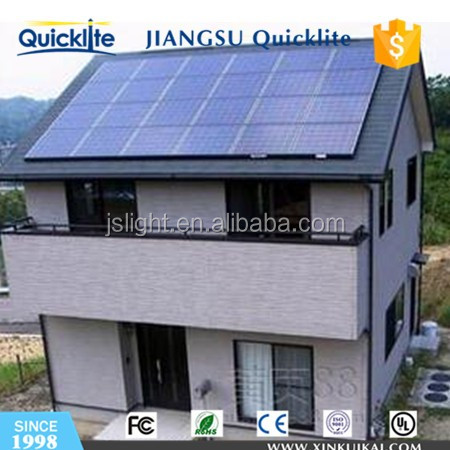 off grid solar power system complete house solar cell panels