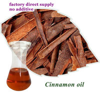 cinnamon bark essential oil with characteristic aroma of cinammon