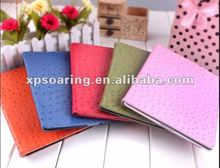 Designed Ostrich leather bag case for ipad 2 ipad 3
