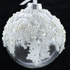 Clear Glass Ball Christmas Tree Decoration
