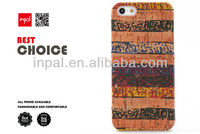 Antique rainbow pattern cork case mobile phone