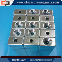 Super Strong Sintered Customized Industrial cheap price of disc neodymium magnet