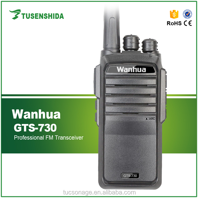 Wireless tour guide system vhf uhf 2 way walkie talkie Wanhua WH GTS-730