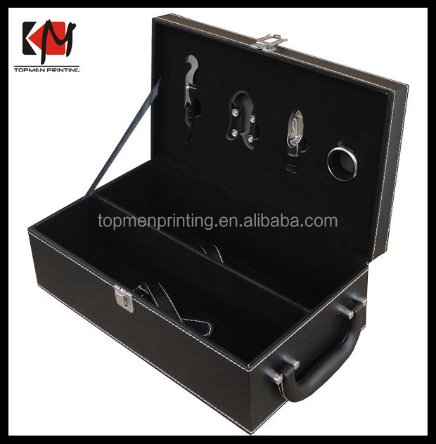 Cutomized Decorative Wine Glass Gift Box for Wine Battle