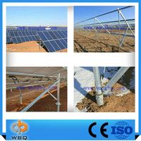 The Lowest Price Roof Tile Top Solar Panel Mounting Power Station