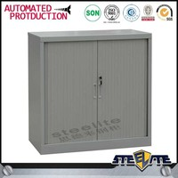 Vendor from China roller shutter filing cabinet/ half height gray tambour door office filing cabinet