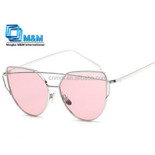 2017 hot sales Metal frame cat 3 uv400 sunglasses