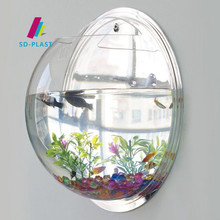 SD Wholesale Best Selling Wall Mounted custom acrylic aquarium
