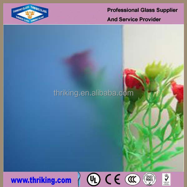 3mm 4mm 5mm 6mm Glass Acid Etching with CE & ISO9001