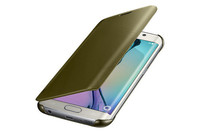 New Mirror Smart View Clear Flip back cover case for samsung galaxy on7 on5 j2