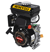 3HP Air Cooled 4 stroke Gasoline Engine 154F