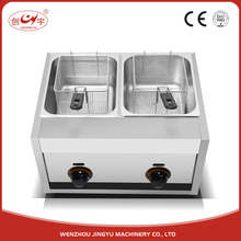 Chuangyu Alibaba Export Quality Products 16L Gas Frying Hot Dog Fryer Machine For Fried Chicken