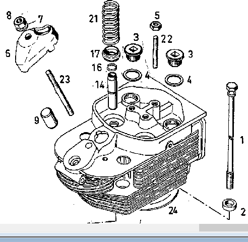 Engine Parts Valve Guidev 912 \<strong>1015</strong>