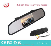 good quality thin car rearview monitor mirror by 4.3 inch lcd tft display