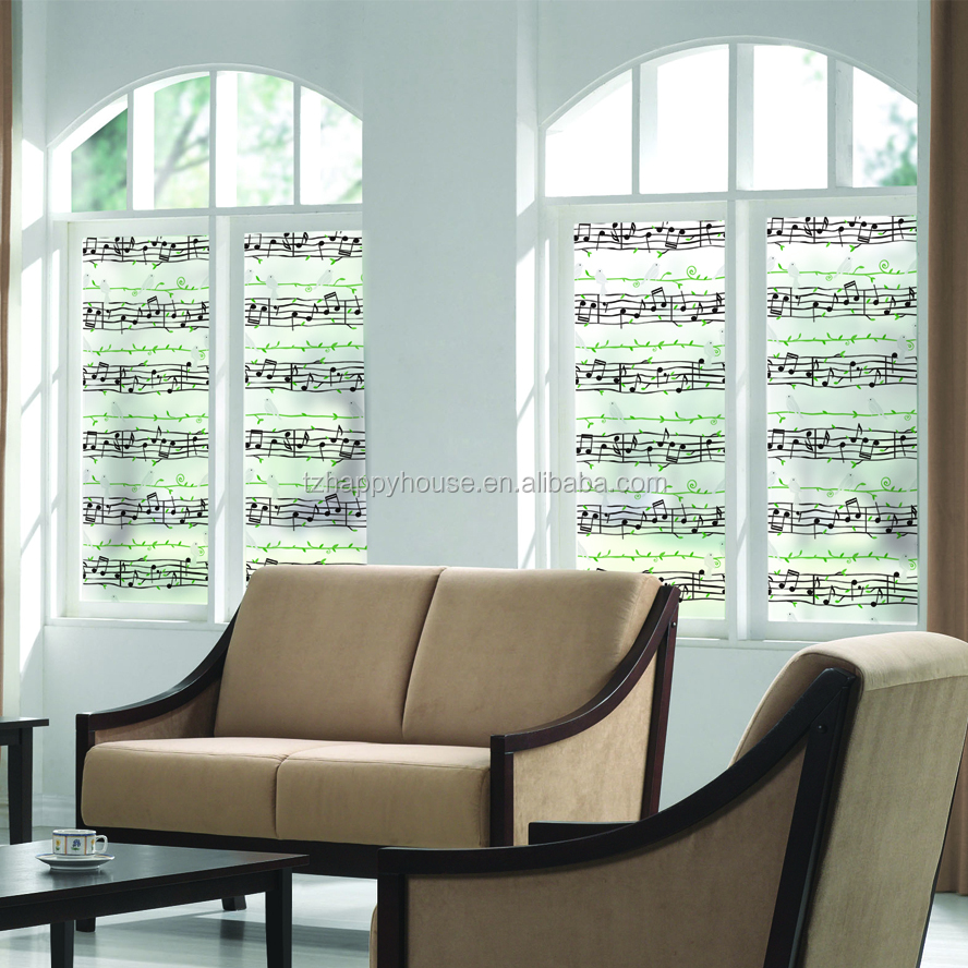 Colourful sun protection self adhesive window film