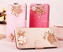 2014 Fashionable Products Ice Silk Pattern Cellphone Case for Xiaomi Mi4 with Stand, Rhinertone case for Xiaomi Mi4