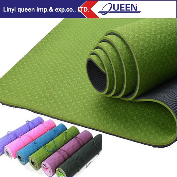 cheapest yellow yoga mat free shipping
