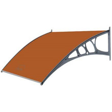 DIY plastic prefab awnings wind resistant canopy shelter material with outdoor canopy supports