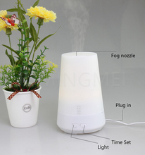 Ultrasonic Aroma Diffuser, Hotel Lobby LED Lights Mist Air Humidifiers