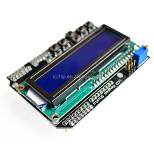 High Quality LCD Keypad Shield LCD1602 LCD 1602 Module Display ATMEGA328 ATMEGA2560 Raspberry pi UNO Blue Screen