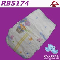 High Quality Good Absorbtion Disposable Baby Diaper Indonesia Manufacturer from China
