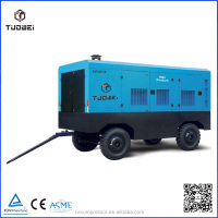 water cooling Multi stage portable power station with air compressor