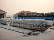 pneumatic rubber marine ship pulling airbag for salvage sunken ships barges cargo,fishing boats launching