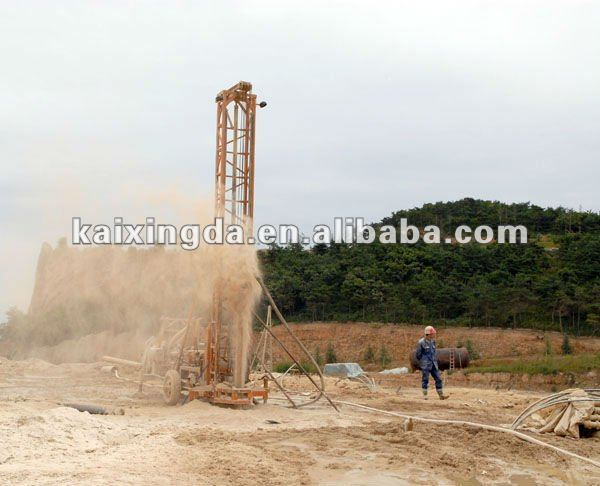 Hydraulic rotary water well drilling rigs & drilling machine(KXD-IIJ)