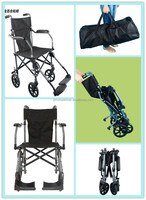 High quality useful economy manual folding wheelchair with steel frame