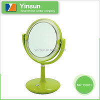 Table double sided make up lighted mirror, magnifying MR 132031