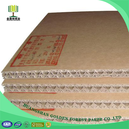 Cheap F Flute Sheets Kraft Liner Board Corrugated Medium Paper For Boxes