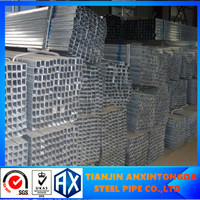 structural steel channel dimensions galvanized square/rectangular steel tube/pipe manufaturer