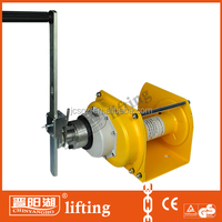 500kg heavy duty hand winch with brake for hot sales