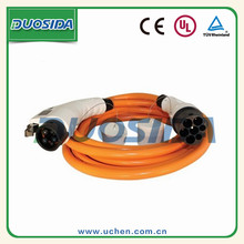 Dostar ev connector cable OEM support type 1 to type2 ev charging