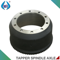 12T 14T 16T Germanic Type Axle