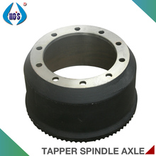 12T 14T 16T Germanic Type Axle Parts Semi-Trailer Brake Drum