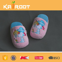 OEM service cute tablet airplane slippers for adults