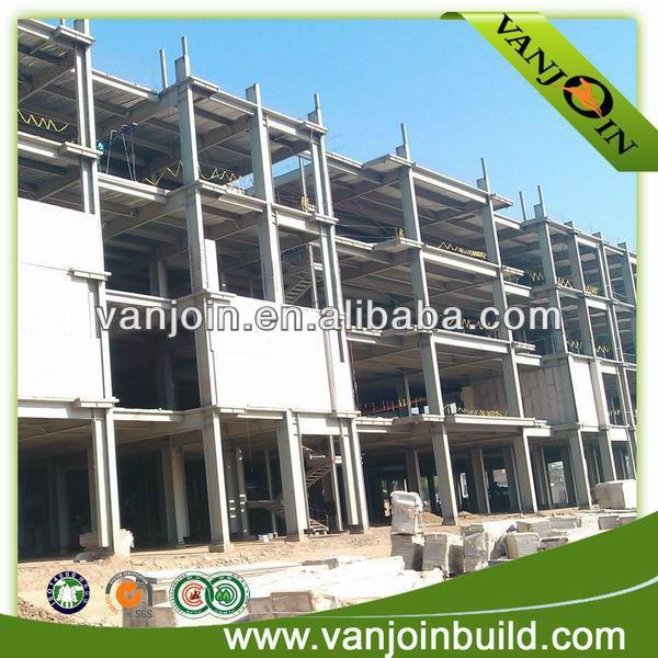 Vanjoin building construction material eps cement sandwich panel
