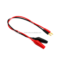 Banana plug to Crocodile Alligator Clips Cable