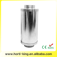 High quality long lasting noise noise sound suppressor 4 inch to 12 inch