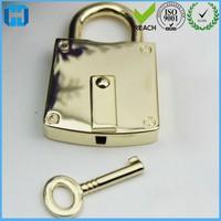 Fashion Small Padlock Square Pad Lock With Key