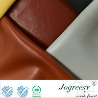 Micro small shiny folds PU leather for bag