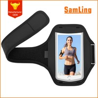 New Product Metal Buckle Tight Strong Cell Phone Armband for Running Jogging Gym