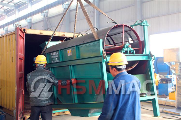 HSM Waste Rock Rotary Trommel Screen