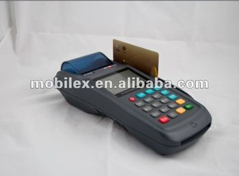 Wireless POS terminal,Mobile payment device,handheld EFT POS machine (MX3100)