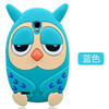 High quanlity fancy 3D animal style soft silicone owl mobile phone case For Iphone 6/6 plus