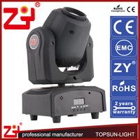 Great brightness high beam torch light 30w gobo mini moving head stage light